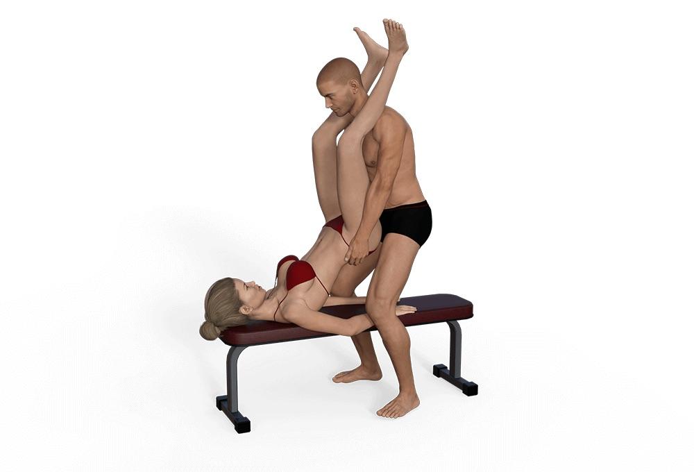 Position sexual wheelbarrow sitting bull