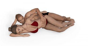 секс-поза Ложка